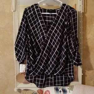 BCX Women's Sheer Blouse